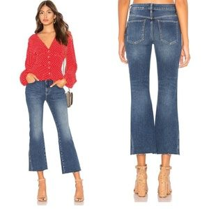 NWT FREE PEOPLE RITA Cropped Flare Jeans